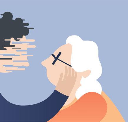 Wanita Semakin Tua Terutama Usia 45 - 85 Tahun Semakin Mudah Mengalami Demensia